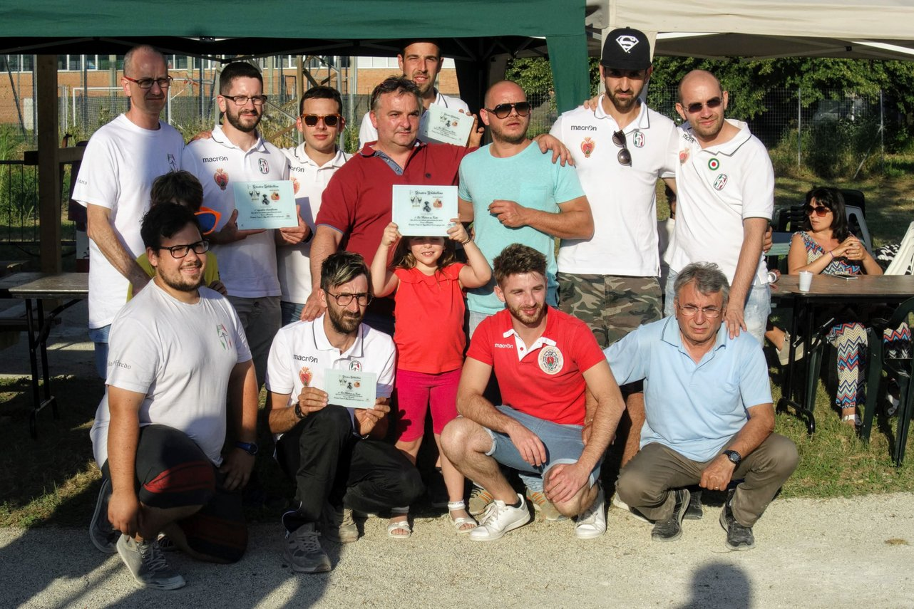 Gara a squadre: primi classificati