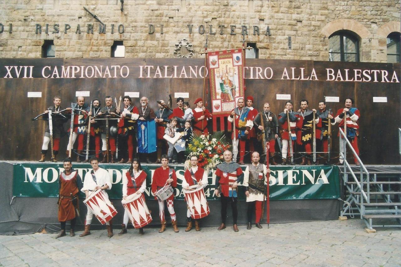 contrade san paolino campioni italiani 2001