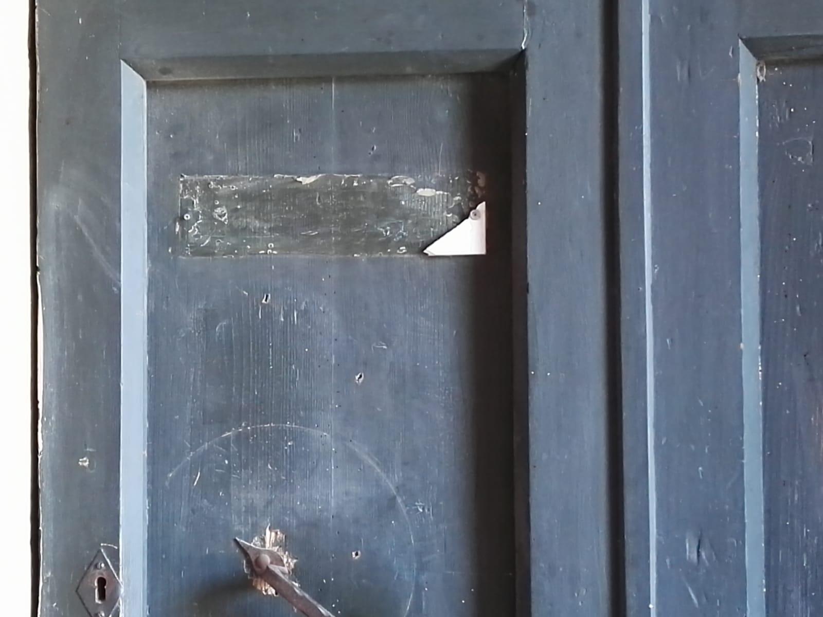porta san pietro contrade danneggiate