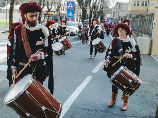 tamburi contrade san paolino